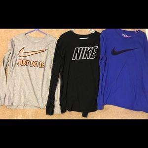 Nike men's Long Sleeve T-shirt's